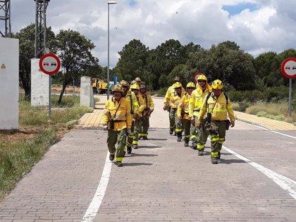Controlado el incendio forestal declarado en la ribera de Posadas (Córdoba)