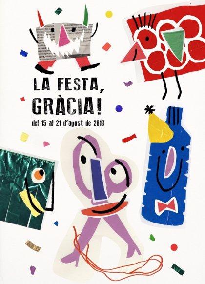 La Festa Major de Gràcia empieza este miércoles con deportistas con discapacidad como pregoneras