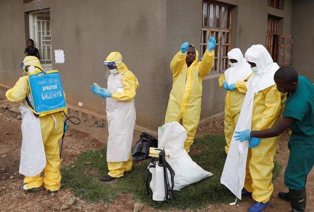 Trabajos contra el ébola en República Democrática del Congo