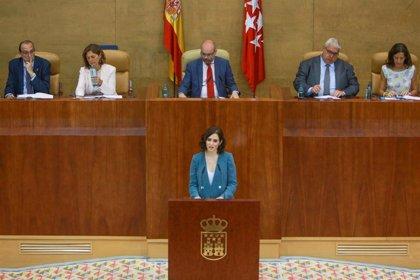 La investidura de Díaz Ayuso como presidenta de la Comunidad de Madrid culmina este miércoles con la votación en Pleno