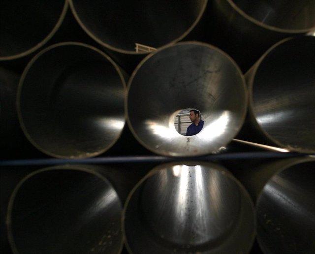 Imagen de recurso de una fábrica industrial.