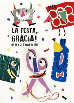Cartell de la Festa Major de Gràcia de 2019