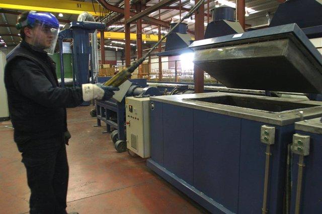 Foto d'una indústria en Andalusia