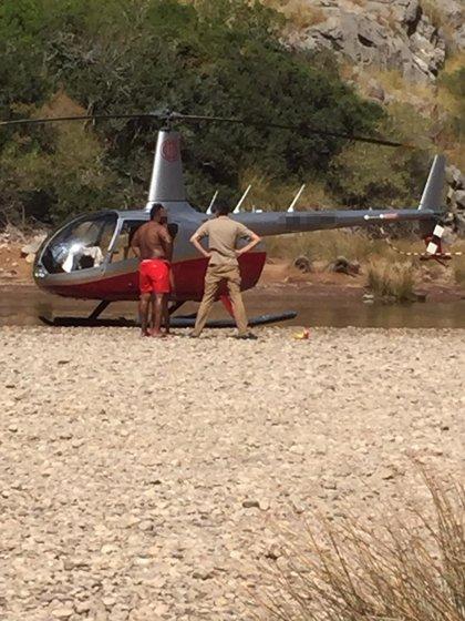 Successos.- Investiguen l'aterratge no autoritzat d'un helicòpter en el Torrent de Pareis