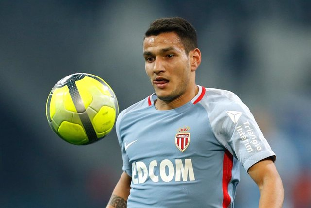 AS Monaco's Portuguese midfielder Rony Lopes reacts during the French Championship Ligue 1 football match between Olympique de Marseille and AS Monaco on January 28, 2018 at the Orange Velodrome stadium in Marseille, France - Photo Benjamin Cremel / DPPI