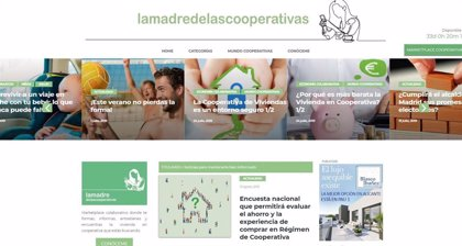Comprar una vivienda en régimen de cooperativa permite un ahorro del 20% por individuo, según LACOOOP