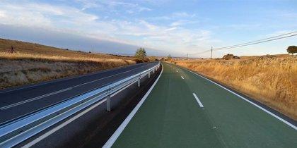 La Diputación de Cáceres interviene en el carril bici de la Casar de Cáceres-Arroyo de la Luz para mejorar su seguridad