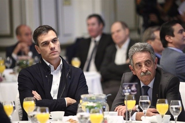 Sánchez y Revilla juntos en un foro en Madrid