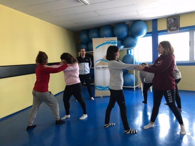 El IAM organiza nuevos talleres de defensa personal en todo Aragón en el último trimestre de 2019.