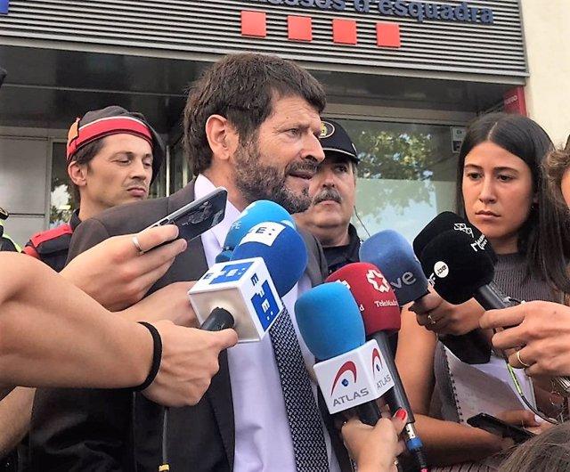 """Batlle asegura que la inseguridad en Barcelona no es """"irreversible ni crónica"""""""