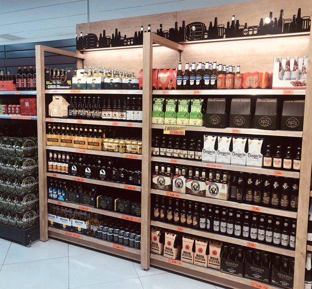 Mercadona amplía a 28 sus proveedores españoles de cerveza con nuevas referencia