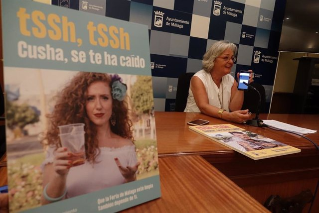 Campaña de Concienciación Ciudadana en materia de limpieza  durante la Feria de Málaga