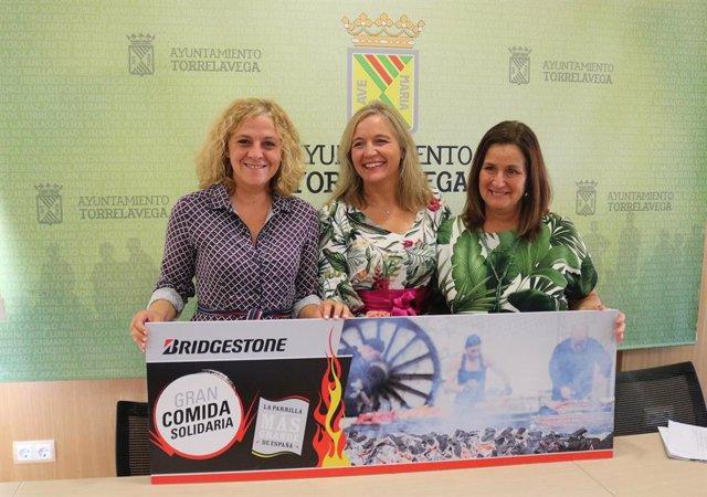Presentación de la I Comida Popular Solidaria de Bridgestone