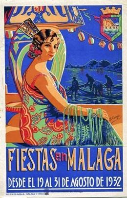 Programa oficial de las Fiestas, del 19 al 31 de agosto, año 1932