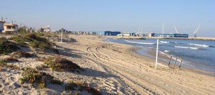 Cerradas al baño las playas de Venecia y Marenys en Gandia por aumento de bacterias por las fuertes lluvias