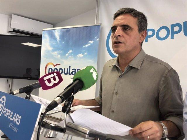 El portavoz del PP en Ibiza, José Vicente Marí Bosó.