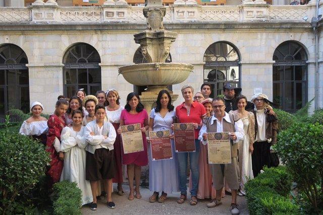 Presentación de las XVI las Fiestas Realengas de Valdepeñas de Jaén.
