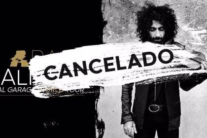 El concierto de Ara Malikian del 24 de agosto en Sancti Petri, cancelado por motivos de salud del violinista
