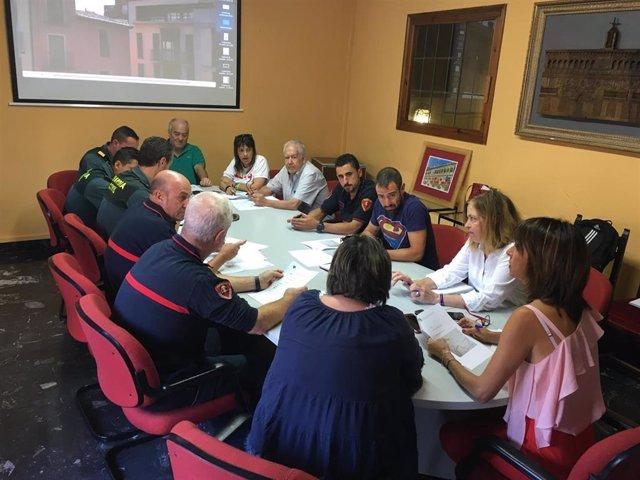 Reunión en Tarazona para diseñar el dispositivo de seguridad del Cipotegato.