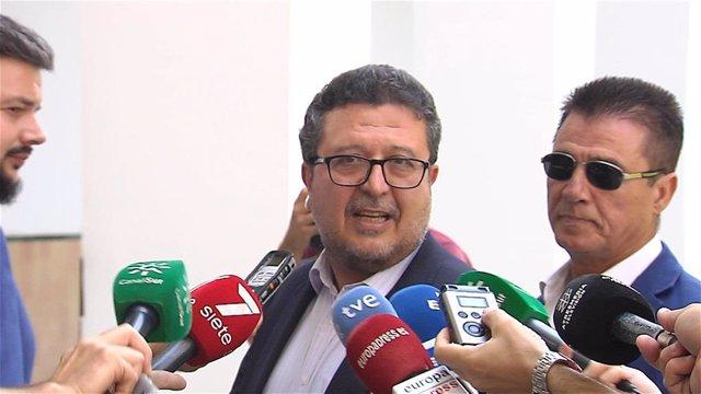 Francisco Serrano (Vox) en una imagen de archivo