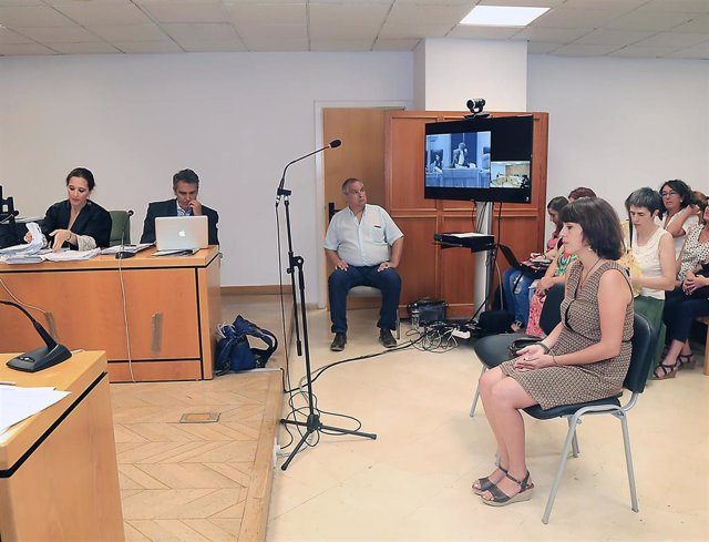 Juana Rivas declara en el juicio por la supuesta sustracción de sus hijos