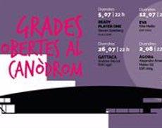 Unes 2.600 persones han assistit al cicle de cinema d'estiu del Canòdrom de Barcelona (TWITTER @CANODROMBCN)