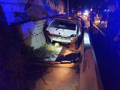 Detenido un conductor en Vigo tras una peligrosa fuga en la que circuló 14 kilómetros en sentido contrario