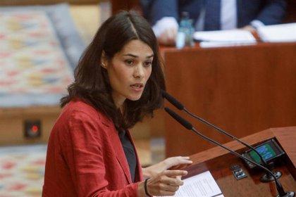 """Isa Serra critica el """"bochorno"""" de Ayuso, que """"se ha victimizado y atacado a la oposición sin explicar su proyecto"""""""