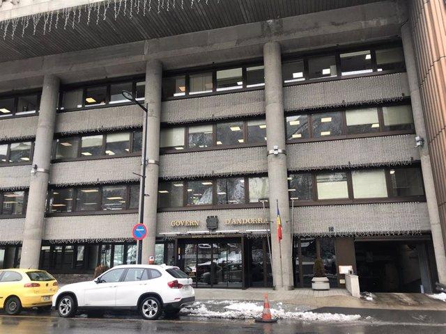Edificio administrativo del Gobierno de Andorra