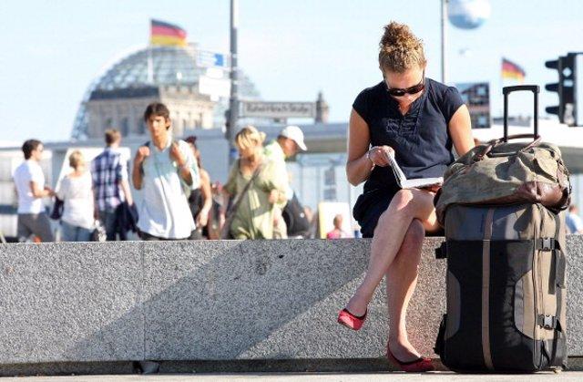 Turista en Berlín.  (Foto: Adam Berry/Getty Images)