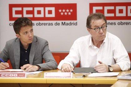 """CCOO censura las propuestas """"ultraliberales"""" de Ayuso y augura que su elección es un """"cambio de rumbo al pasado"""""""