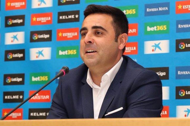 El entrenador del RCD Espanyol, David Gallego