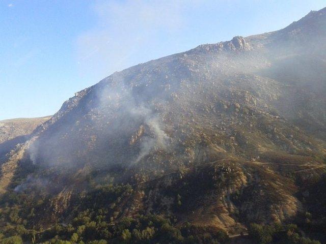 Situación del incendio de Navalacruz (Ávila).