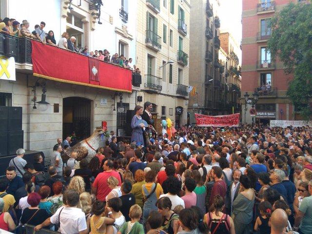Pregó de les Festes de Gràcia de Barcelona