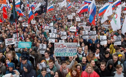 Las autoridades de Moscú autorizan una concentración opositora el 25 de agosto