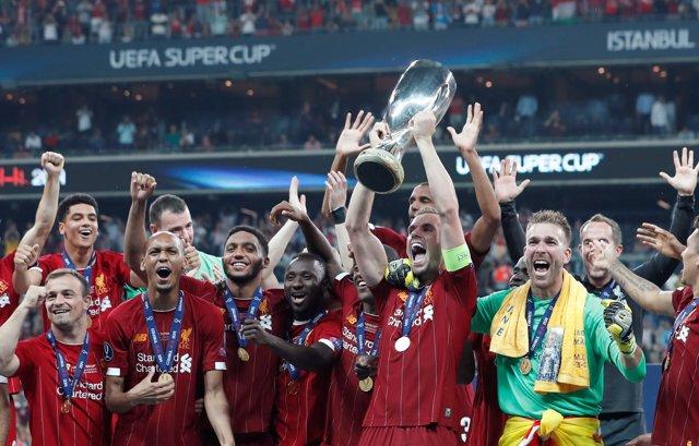 AMP.- Fútbol/Supercopa.- Crónica del Liverpool - Chelsea, 2-2 (5-4, en los penaltis)