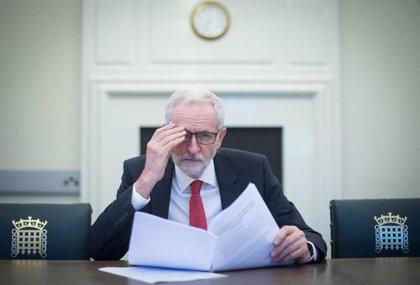 Corbyn planea una moción de censura contra Johnson para evitar un Brexit desordenado