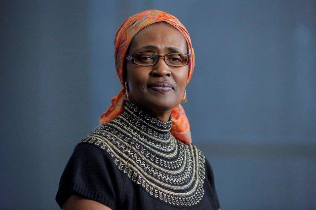 La nueva directora de ONUSIDA, Winnie Byanyima