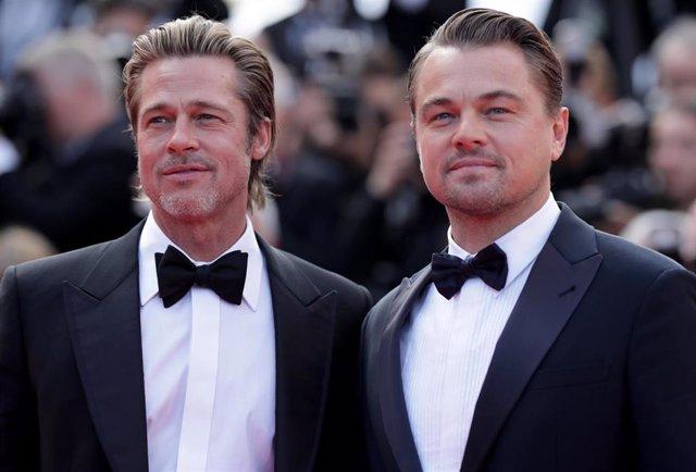 Brad Pitt y Leonardo DiCaprio desatan pasiones en el 'Festival de Cannes'