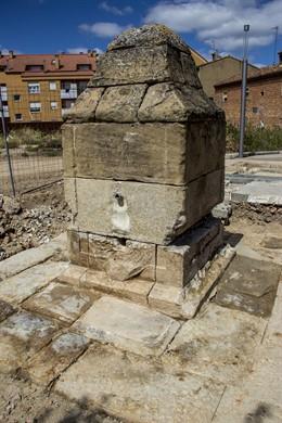 La Fuente que será restaurada en Villamediana de Iregua (La Rioja)
