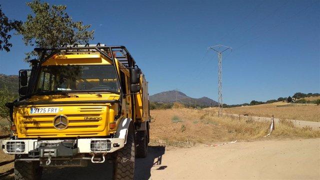 Un camión del Infoex en una imagen de archivo