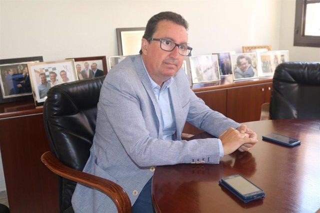 Manuel Andrés González, en una entrevista a Europa Press.