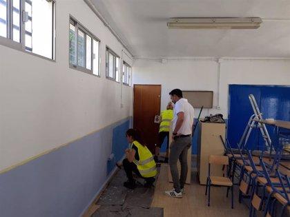 Vegas del Genil en Granada realiza obras de mejora en todos sus centros educativos de cara al inicio del curso escolar
