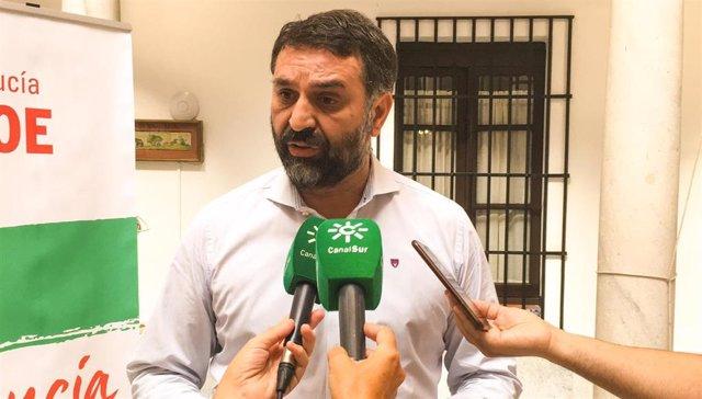 Francisco Javier Fernández, hoy ante los medios