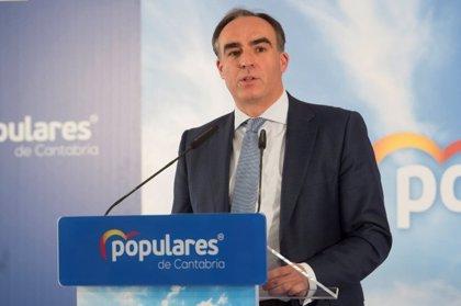 Javier Puente, portavoz del PP en la Comisión de Ciencia, Innovación y Universidades del Senado