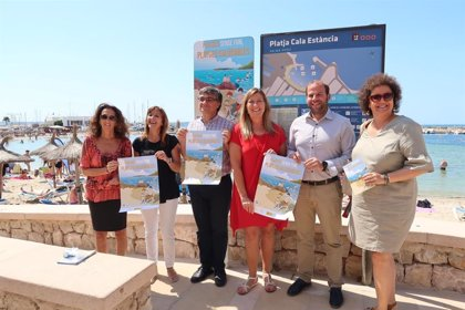 Binissafúller, Cala Deià, la Colònia de Sant Pere i Cala Millor se sumen a la xarxa 'Platges sense Fum' de Balears