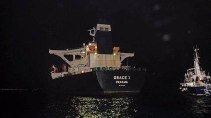 EEUU solicita el bloqueo del barco iraní retenido en Gibraltar