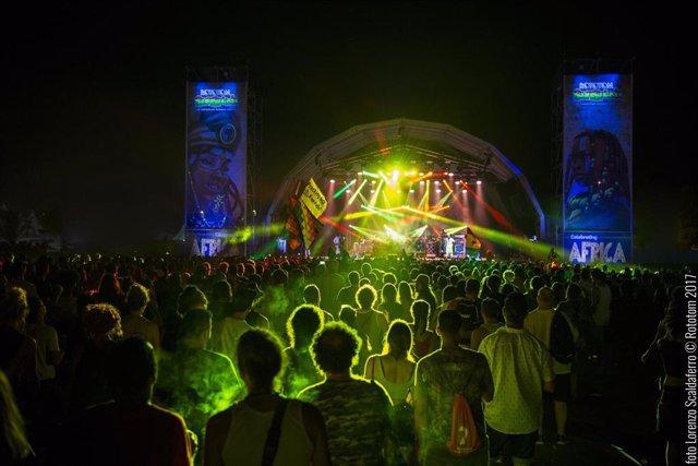 Main Stage del Rototom en la edición de 2017