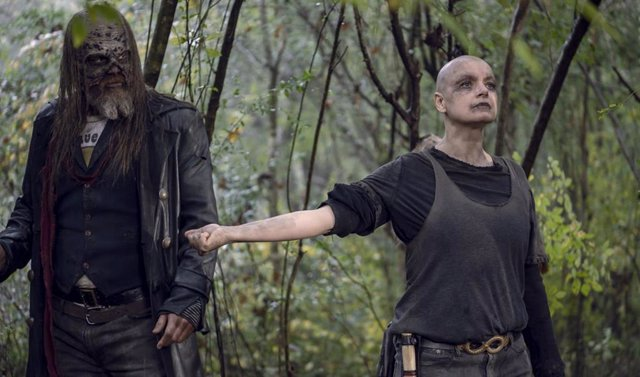 Alpha, la villana de The Walking Dead