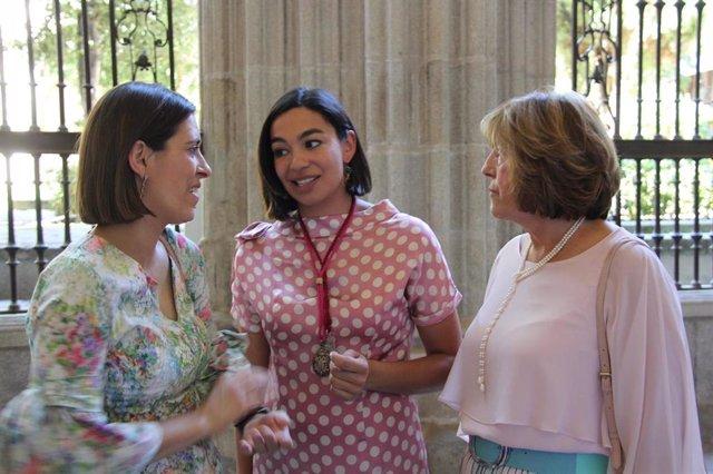 La ortavoz regional del PP, Claudia Alonso